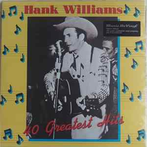 Descargar Hank Williams - 40 Greatest Hits