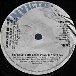 Descargar Chairmen Of The Board Featuring Prince Harold - You've Got Extra Added Power In Your Love