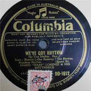 "Descargar Mario ""Harp"" Lorenzi & His Rhythmics - We've Got Rhythm"