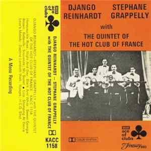 Descargar Django Reinhardt - Stephane Grappelly With Quintet Of The Hot Club Of France, The - Django Reinhardt & Stephane Grappelly With The Quintet Of The Hot Club Of France