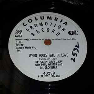 Descargar Champ Butler - I Guess It Had To Be That Way / When Fools Fall In Love