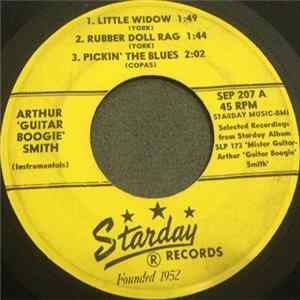 Descargar Arthur Smith , Billy Byrd, Jimmy Capps, Hardrock Gunter, Eddie Eddings - Selected Recordings From Starday Albums SLP 173 / SLP 176