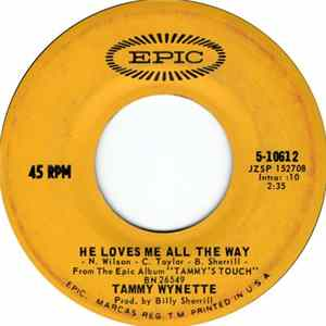 Descargar Tammy Wynette - He Loves Me All The Way / Our Last Night Together