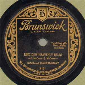 Descargar Frank And James McCravy - Ring Dem Heavenly Bells / Hide Away